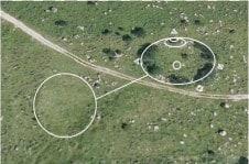 Slika 2 Megalitski sistem pod Krnom. Megalitski sistem na planini Razor